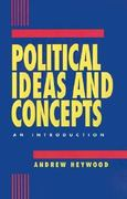 Political Ideas and Concepts 0 9780312121082 0312121083