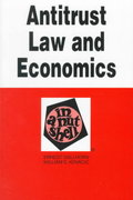 Antitrust Law and Economics 4th edition 9780314026835 0314026835
