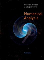 Numerical Analysis 9th edition 9780538733519 0538733519