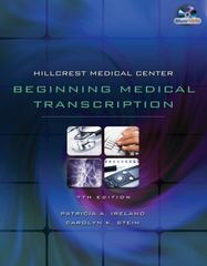 Hillcrest Medical Center 7th Edition 9781133007340 1133007341