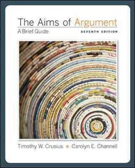 The Aims of Argument 7th edition 9780073383842 0073383848
