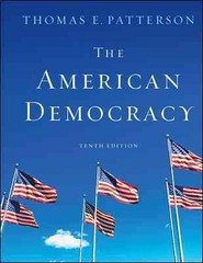 The American Democracy 10th edition 9780073379098 0073379093
