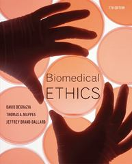 Biomedical Ethics 7th edition 9780073407456 0073407453