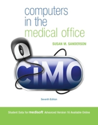 Computers in the Medical Office 7th edition 9780073374604 0073374601