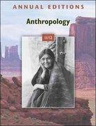 Annual Editions: Anthropology 11/12 34th edition 9780078050701 0078050707