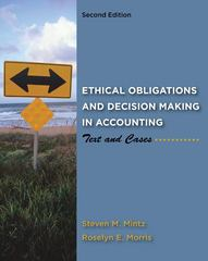 Ethical Obligations and Decision-Making in Accounting 2nd edition 9780078025280 0078025281