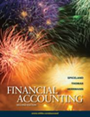 Financial Accounting 2nd edition 9780078110825 0078110823