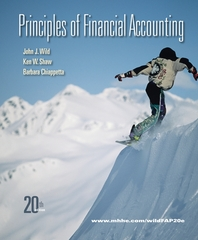 Principles of Financial Accounting (Chapters 1-17) 20th edition 9780077338237 0077338235