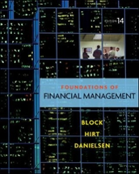 Foundations of Financial Management 14th Edition 9780073530727 0073530727