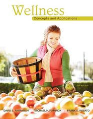 Wellness: Concepts and Applications 8th edition 9780077555047 007755504X