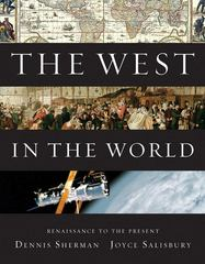 The West in the World, Renaissance to Present 4th edition 9780077367572 007736757X