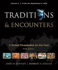 Traditions & Encounters 5th edition 9780077367961 0077367960
