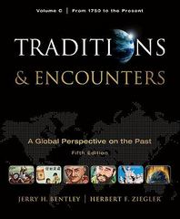 Traditions & Encounters 5th edition 9780077367992 0077367995