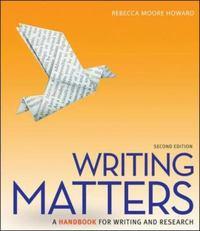 Writing Matters 2nd Edition 9780073405957 0073405957