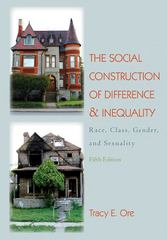 The Social Construction of Difference and Inequality 5th edition 9780078026645 0078026644