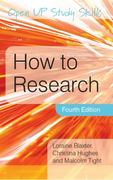 How to Research 4th Edition 9780335238675 033523867X