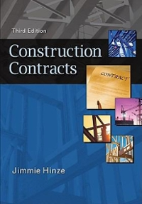 Construction Contracts 3rd Edition 9780073397856 0073397857