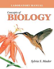 Lab Manual Concepts of Biology 2nd edition 9780077297336 0077297334