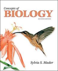 Concepts of Biology 2nd edition 9780073403489 0073403482