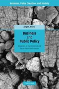 Business and Public Policy 1st edition 9780521897815 0521897815
