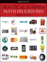 Practical Business Math Procedures 10th edition 9780077327934 0077327934