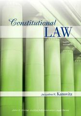 Constitutional Law 12th edition 9781422463260 1422463265