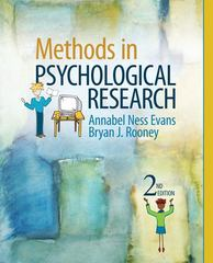 Methods in Psychological Research 2nd Edition 9781412977883 1412977886