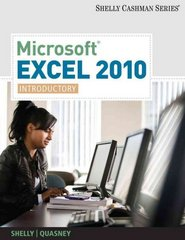 Microsoft Excel 2010 1st Edition 9781133007982 1133007988