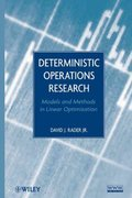 Deterministic Operations Research 1st edition 9780470484517 0470484519
