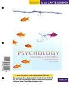 Psychology, Books a la Carte Plus MyPsychLab Pegasus 2nd edition 9780205821648 0205821642