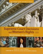 Supreme Court Decisions and Womens Rights 2nd edition 9781608714063 1608714063