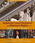 Supreme Court Decisions and Womens Rights 2nd Edition 9781608714070 1608714071