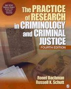 The Practice of Research in Criminology and Criminal Justice 4th edition 9781412978767 1412978769