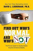Find Out Who's Normal and Who's Not 0 9780978631321 0978631323