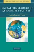 Global Challenges in Responsible Business 0 9780521515986 052151598X