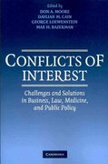Conflicts of Interest 0 9780521143462 0521143462