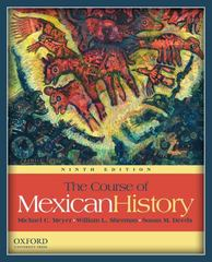 The Course of Mexican History 9th Edition 9780199730384 0199730385
