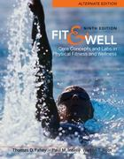 Connect Fitness and Wellness Access Card for Fit & Well, Alternate Version 9th edition 9780077349752 007734975X
