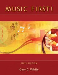 Music First! with Keyboard Foldout 6th edition 9780077407148 0077407148