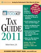 Toolkit Tax Guide 2011 0 9780808023579 0808023578