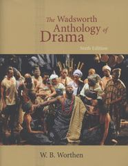 The Wadsworth Anthology of Drama, Revised Edition 6th Edition 9780495903239 049590323X
