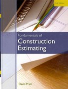 Fundamentals of Construction Estimating 3rd Edition 9781439059647 1439059640