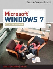 Microsoft Windows 7: Comprehensive (Sam 2010 Compatible Products) 1st edition 9781439081037 1439081034