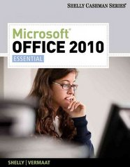 Microsoft Office 2010 1st Edition 9781133008453 1133008453