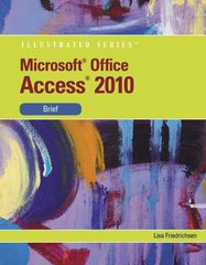Microsoft Access 2010 1st edition 9780538748278 0538748273