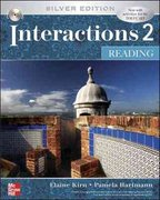 Interactions 2  - Reading Student Book Plus e-Course Code 5th edition 9780077403348 0077403347