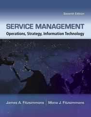 Service Management with Premium Content Access Card 7th Edition 9780077426972 0077426975