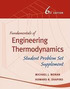 Fundamentals of Engineering Thermodynamics, Student Problem Set Supplement 6th edition 9780470643532 0470643536