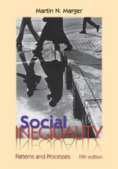 Social Inequality: Patterns and Processes 5th edition 9780073528304 0073528307