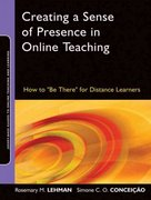 Creating a Sense of Presence in Online Teaching 1st Edition 9780470564905 0470564903